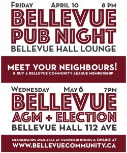 BCL Pub night and AGM flyer